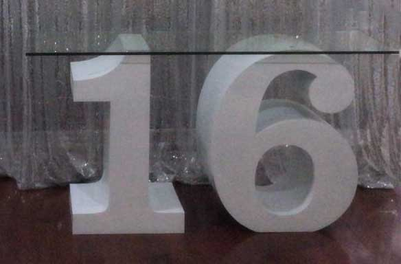 table-number-16